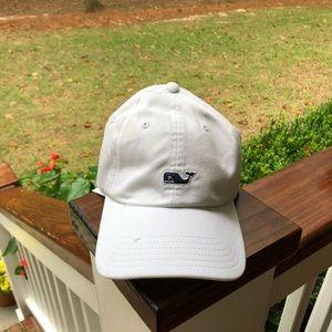 Vineyard Vines White Baseball Hat